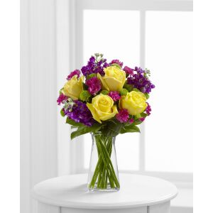 The Happy Times Bouquet by FTD - VASE INCLUDED